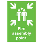 Safety Sign Fire Assembly Point A2 PVC FR04548R