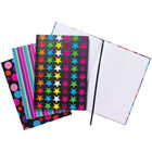 A4 Assorted Fashion Casebound Notebooks, Pack of 5 - 301650