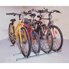 Cycle Rack 3-Bike Capacity Aluminium 309715