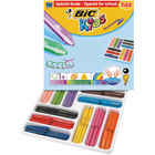 BIC Kids Plastidecor Triangle Crayons, Pack of 144 - 887833