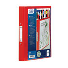 Elba Vision Red A4 2 O-Ring Binder 25mm - 1304-09