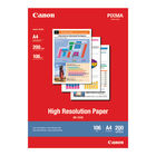 Canon A4 High Resolution Paper, 106gsm - 200 Sheets - 1033A001