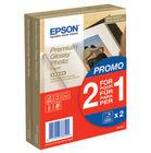Epson 100 x 150mm Premium Glossy Photo Paper, Pack of 80 - C13S04