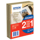 Epson 100 x 150mm Premium Glossy Photo Paper, Pack of 80 - C13S04