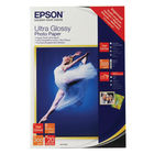 Epson 10 x 15cm Ultra Glossy Photo Paper, Pack of 20 - C13S041926