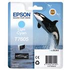 Epson T7605 Light Cyan Ink Cartridge - C13T76054010