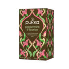 Pukka Peppermint and Liquorice Tea Sachets, Pack of 20 | P5041