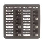 Indesign Grey 20 Names In/Out Board - WPIT20I