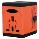 Swordfish VariPlug Orange USB Universal Travel Adaptor - 40253