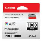 Canon PFI-1000MBK Matte Black Ink Cartridge - PFI-1000 MBK