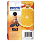 Epson 33 Black Ink Cartridge - C13T33314012