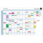 Perpetual Magnetic Year Wall Planner - 56153E