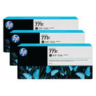 HP 771C Matte Black Ink Cartridge (Pack of 3) B6Y31A