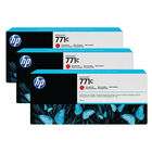 HP 771C Chromatic Red Ink Cartridge (Pack of 3) B6Y32A