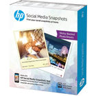 HP 10 x 13cm Social Media Snapshots, Pack of 25 - W2G60A