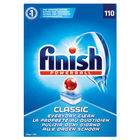 Finish Classic Regular Dishwasher Cleaner, Pack of 110 - 3032090