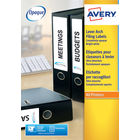 Avery White 250 x 60mm Filing Labels (Pack of 100) - J8171-25