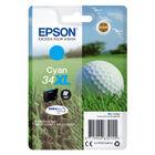 Epson 34XL Cyan Ink Cartridge - High Capacity C13T34724010
