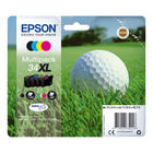 Epson 34XL Black and Colour Ink Cartridge Multipack - High Capacity C13T34764010