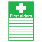 First Aiders (300 x 200mm) Safety Sign - FA01926S