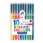 Staedtler Triplus Assorted Colour Pens, Pack of 10 - 323 SB10