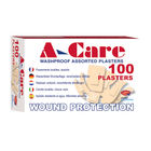 A-Care Washproof Assorted 6 Sizes (Pack of 100)