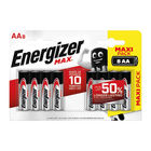 Energizer MAX AA Batteries, Pack of 8 - E300112400