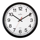 Acctim Controller Black Silent Wall Clock - 93/704B