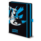 Marvel A5 Retro Captain America Notebook - SR72506