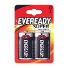 Eveready Super Battery Size D, Pack of 2 - R20B2UP