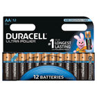 Duracell AA Ultra Power Batteries, Pack of 12 - 640925