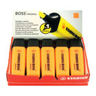 Stabilo Boss Original Orange Highlighters, Pack of 10 - 70/54/10
