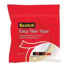 Scotch Easy Tear Clear Tape - 24mm x 50m Tape Roll - GT500077224
