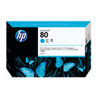 HP 80 Cyan Ink Cartridge - C4872A