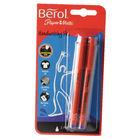 Berol Blue Handwriting Pens, Pack of 2 - S0672920