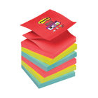 Post-it 76 x 76mm Bora Bora Super Sticky Z-Notes, Pack of 6 | R330-6SS-JP