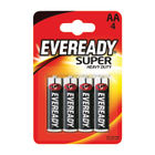 Eveready Super Battery Size AA, Pack of 4 - R6B4UP