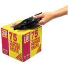 Le Cube Black 100 Litre Tie Handle Refuse Sacks with dispenser, Box of 75 - 0481