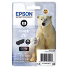 Epson 26 Photo Black Ink Cartridge - C13T26114012