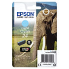 Epson 24 Light Cyan Ink Cartridge - C13T24254012