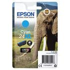 Epson 24XL Cyan Ink Cartridge - High Capacity C13T24324012