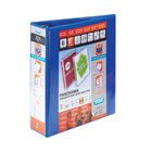 Elba Panorama Blue A4 Presentation 2 D-Ring Binder 70mm - Pack of 5 - 400008438
