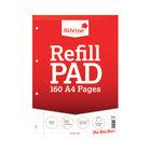 Silvine A4 Ruled Headbound Refill Pads, Pack of 6 | A4RPFM