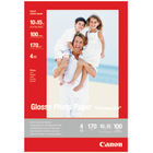 Canon Everyday 100 x 150mm Glossy Photo Paper, 170gsm - 100 Sheets - 0775B003