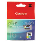 Canon BCI16 Colour Ink Cartridge Twin Pack - 9818A002
