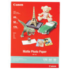 Canon MP-101 White A4 Matte Photo Paper, 170gsm - 50 Sheets - 7981A005