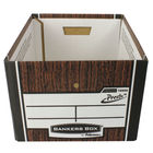 Fellowes Bankers Box Premium Presto Storage Box Woodgrain, Pk of 10+2 - 7250101