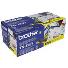 Brother TN-135Y Yellow Toner Cartridge - High Capacity TN135Y