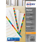 Avery A4 White A-Z Index Divider - 5231061