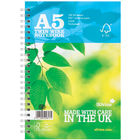 Silvine A5 Wirebound FSC Premium Ruled Notebooks - Pack of 5 - R203